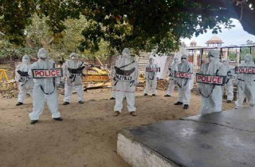 gwalior police special squad in coronavirus