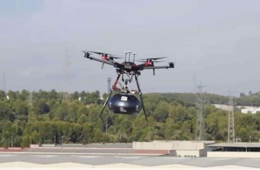 COVID-19: 25 ड्रोन और 300 कैमरों से हो रही है शहर की निगरानी, लॉकडाउन के दौरान चप्पे-चप्पे पर नजर