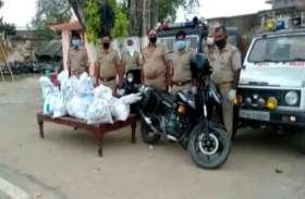 लॉक डाउन में भूख से परेशान गरीबों और दिहाड़ी मजदूरी के लिए मसीहा बनी मित्र पुलिस