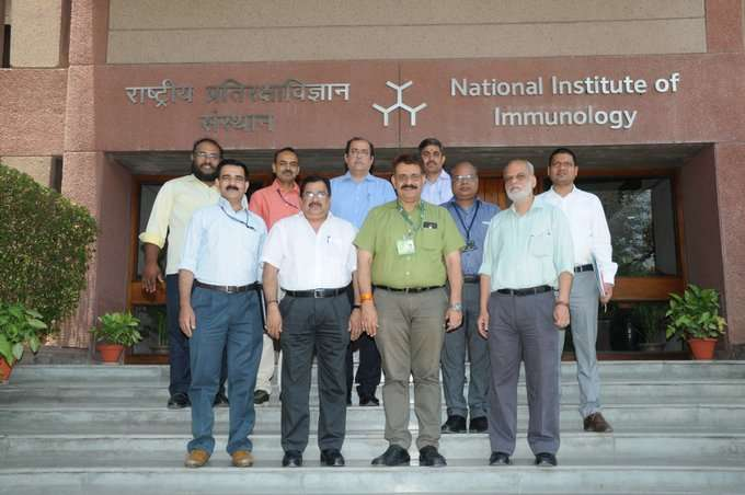 NII Director Amulya K Panda (Front row, 2nd from left- File Photo)