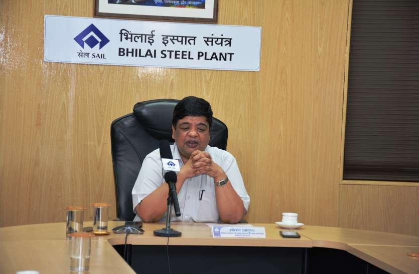 कार्मिकों के जीवन को बचाने की सर्वोच्च प्राथमिकता, बीएसपी में जारी रहेगा उत्पादन