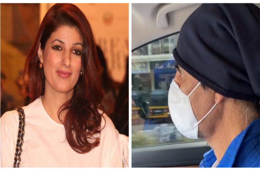 कोरोनावायरस के बीच अक्षय कुमार पत्नी ट्विंकल संग पहुंचे हॉस्पिटल, सोशल मीडिया पर वायरल हुई वीडियो
