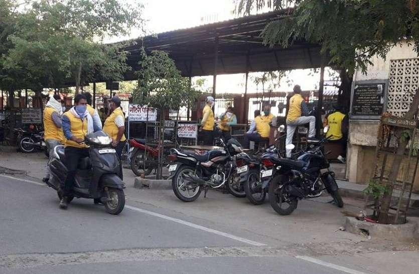 Corona Jaipur : प्रशासन से आगे खड़ी असुरक्षित Civil Defence Jaipur