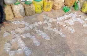 लॉकडाउन में सक्रिए हुए शराब कोचिए, पानी पाऊच का रूप देकर बिक्री के लिए पहुंच रहे गांव-गांव, विभाग को खबर तक नहीं
