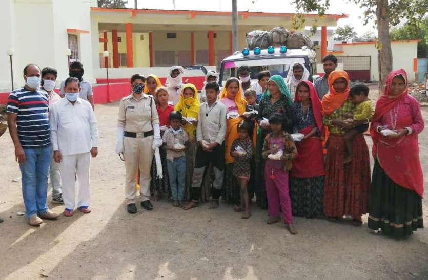 LockDown : 20 राजस्थान, 114 को पहुंचाया बालाघाट