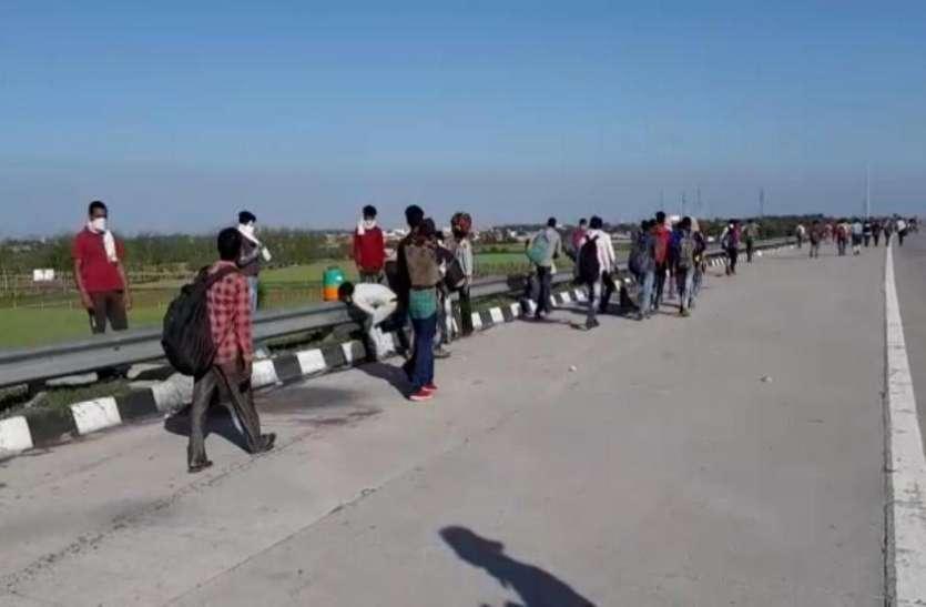 लॉकडाउन के दौरान घर के लिए पैदल निकला शख्स, 200KM चलने के बाद हुई मौत