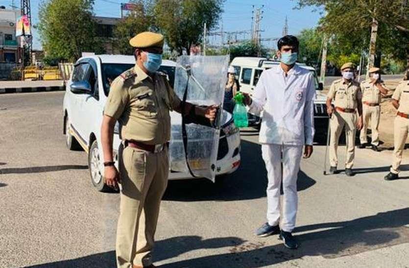 पुलिस ने जिले में प्रवेश करने वाले 15 रास्तों पर बनाए नाके, साइबर ठगों से सावधान रहने की नसीहत