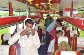 63 बसों से मजदूरों को उनके घर भेजने की प्रशासन की पहल
