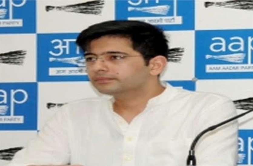 CM Yogi पर लोगों को पिटवाने का आरोप लगाने वाले 'आप' विधायक राघव चड्ढा के खिलाफ नोएडा में केस दर्ज
