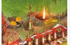 चैत्र नवरात्रि: क्यारियों और गमलों में करें जवारे विसर्जन