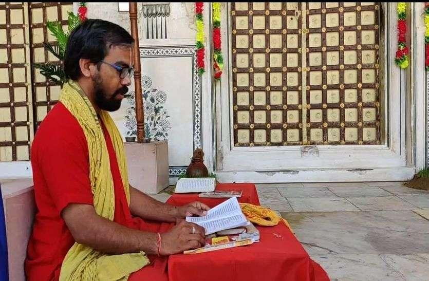 पट मंगल, घर-घर, मंदिर—मंदिर हो रहे नवरात्र पाठ