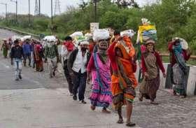पानीपत से आठ हजार श्रमिक दिल्ली की ओर रवाना
