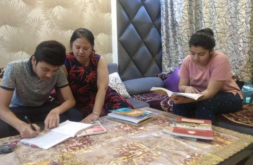 कोरोना इफेक्ट...  बच्चों को पढ़ाई की चिंता, महिलाओं का भी बढ़ा काम