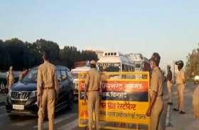 खचाखच मजदूरों से भरी आठ बसें जब पहुंची बाराबंकी बॉर्डर, जिले में नहीं मिली एंट्री