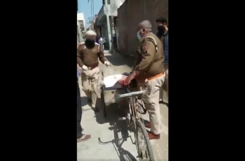लॉकडाउन में पुलिस की दरियादिली पर दिल हारा इंडिया, लोग बोले-ये हैं असल हीरो..देखें वायरल वीडियो