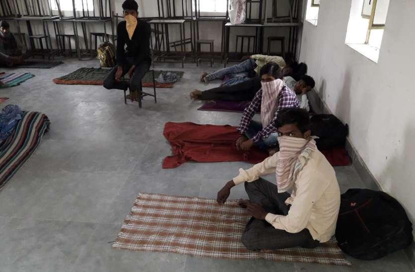 Shelter Home : स्कूलों में ठहराया, लेकिन ओढ़ने—बिछाने को नहीं