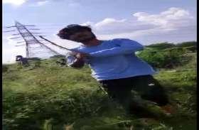 मानवता शर्मसार - पुलिसकर्मी ने गुंडों के साथ मिलकर की किसान की पिटाई, एसपी ने किया निलंबित