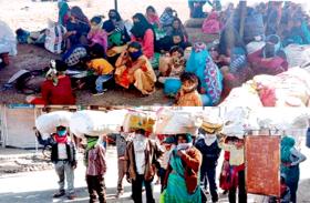 LockDown : राजस्थान ने बसों में भेजे 300 मजदूर, 3 लाख लेकर जंगल में ही छोड़ दिया
