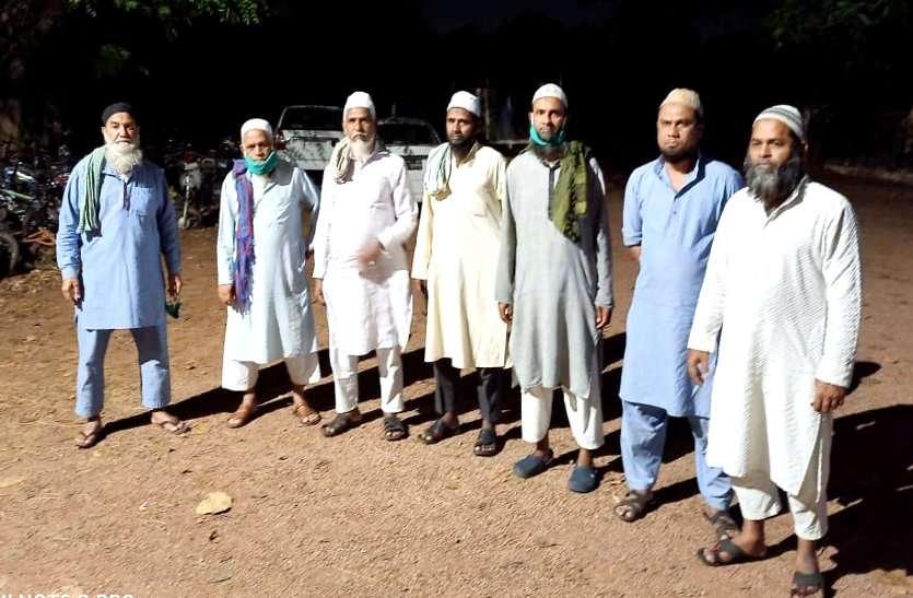 निजामुद्दीन मरकज से लौटे महाराष्ट्र के सात और जमाती छुपे मिले मस्जिद में, लोगों की सूचना पर पहुंची पुलिस