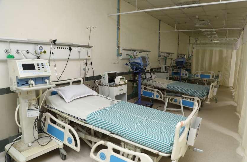 Covid Hospital, Gujarat, Ahmedaba, 1200 Bed - Gujarat: युद्धस्तर पर तैयार  हुआ अहमदाबाद का 1200 बेड वाला कोविड अस्पताल | Patrika News