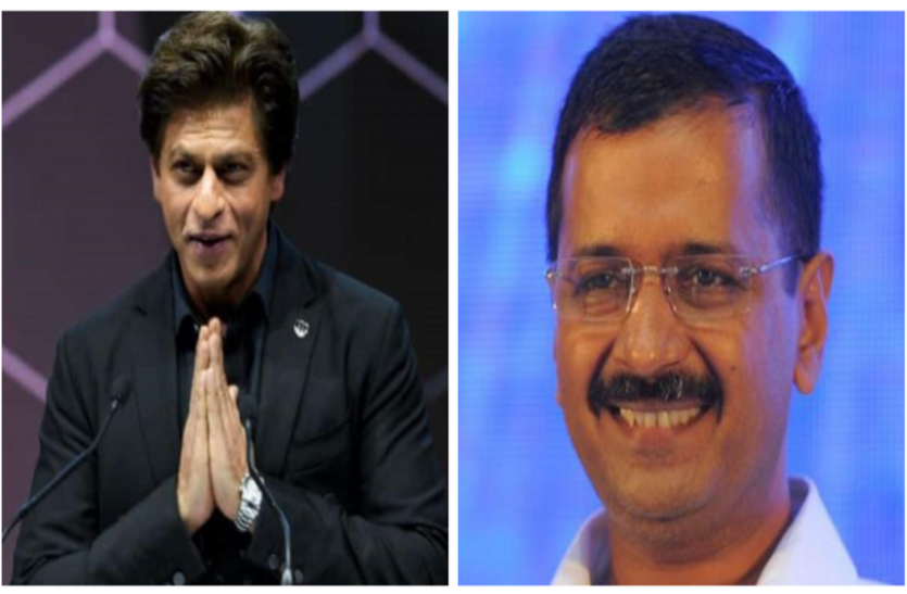 सीएम केजरीवाल ने शाहरुख को मदद करने के लिए कहा,'थैंक्यू',किंग खान बोले,'आप दिल्लीवाले हो,बस हुक्म करो'