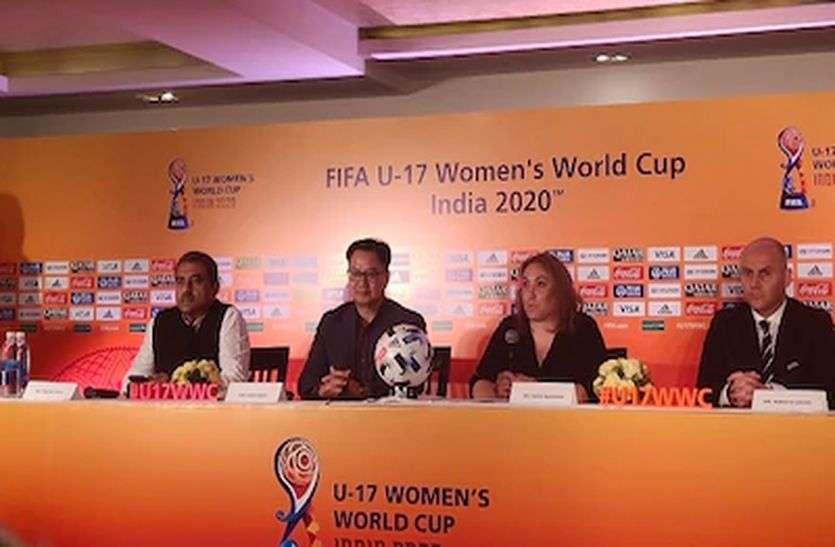 फुटबॉल : यू-17 फीफा महिला विश्व कप भी टला, भारत कर रहा है पहली बार मेजबानी