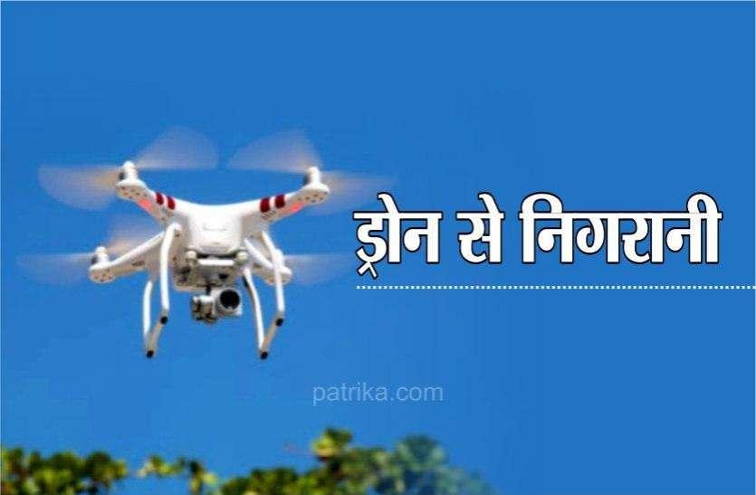 चोरी के बाद ठगी ने उड़ाई पुलिस की नींद, बैंकों की जांच, आज ड्रोन से करेंगे निगरानी
