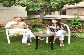 सांसद तन्खा ने 25 साल बाद पी पत्नी के साथ चाय