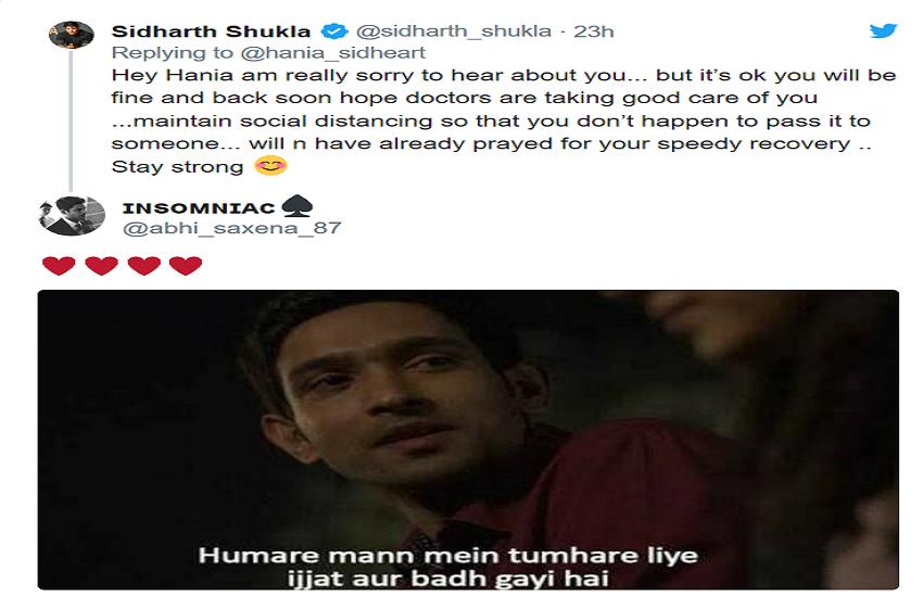 Siddharth Shukla Tweet