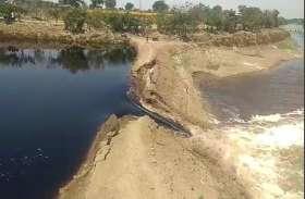 बर्बादी: कोरोना के कहर से जूझ रहे शहर में टूट गया क्षिप्रा का बांध