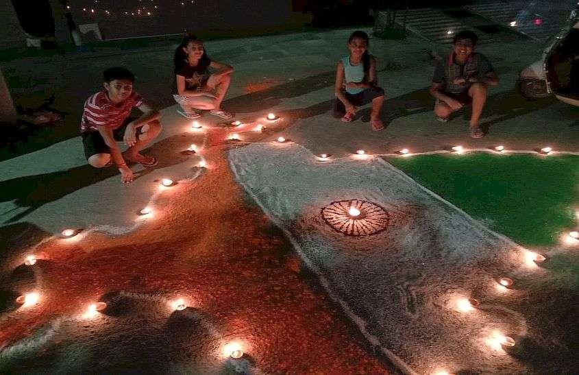 Diwali in Bhilwara against Corona