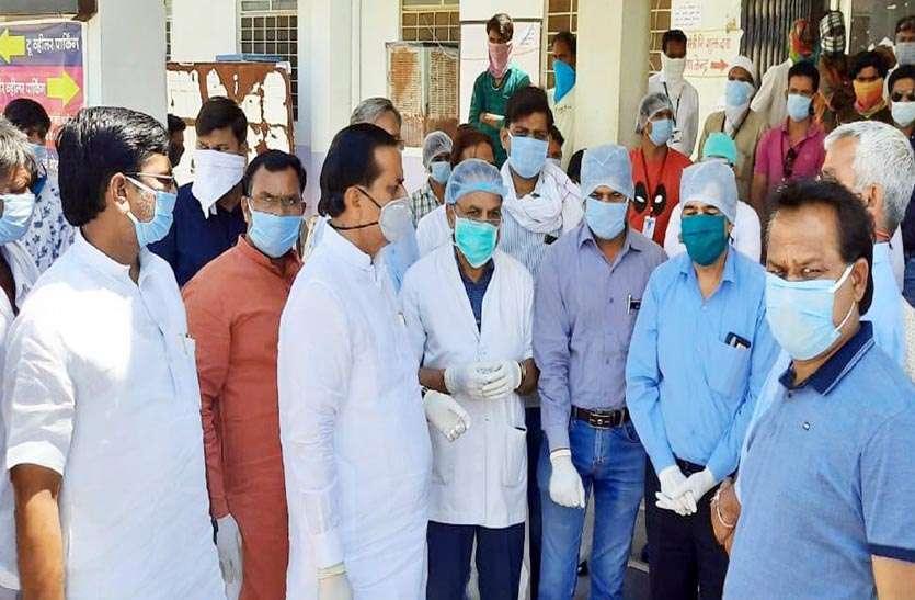 Corona ke Karmvir : कोरोना संक्रमण से बचाव में लगे कर्मवीरों का किया सम्मान
