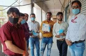 पत्रकारों की सुरक्षा के लिए भाजपा विधायक ने आगे बढ़ाया हाथ, उपलब्ध कराए ग्लव्स, मास्क और सैनिटाइजर
