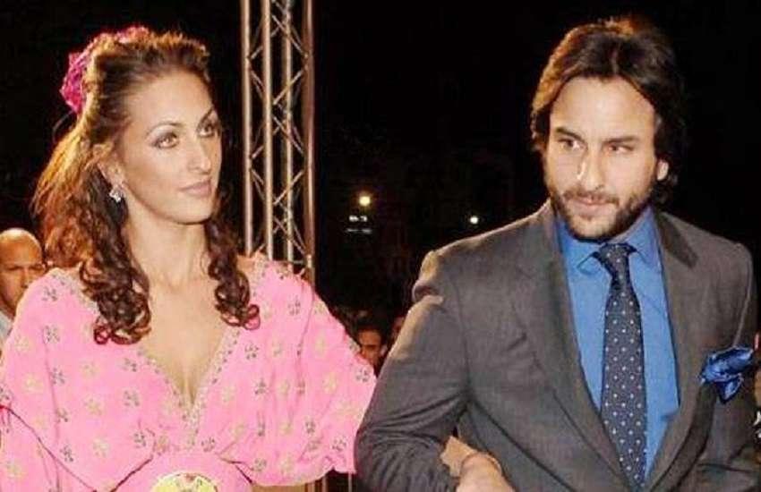 Saif Ali Khan With His Ex Girlfriedn Rosa