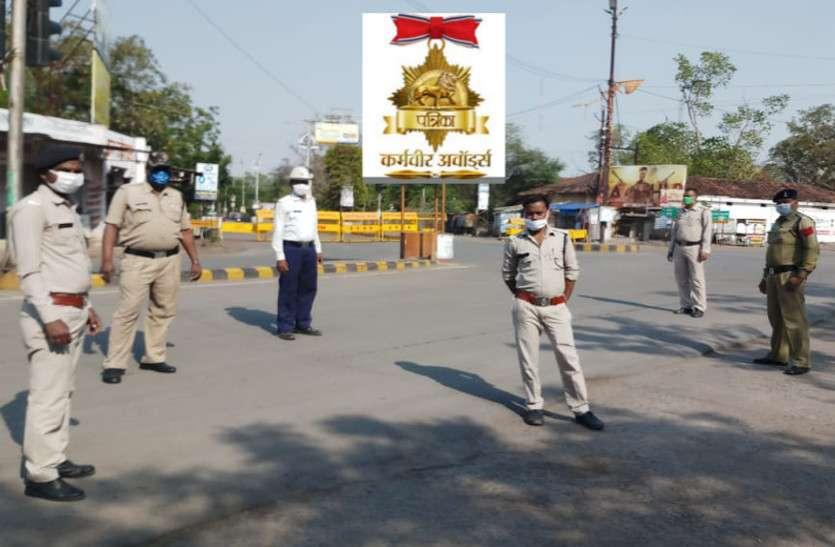 कोरोना के खिलाफ जंग लड़ रहा पुलिसकर्मी किसी योद्धा से कम नहीं, अपना फर्ज निभाने हर घड़ी तैयार हैं कर्मवीर