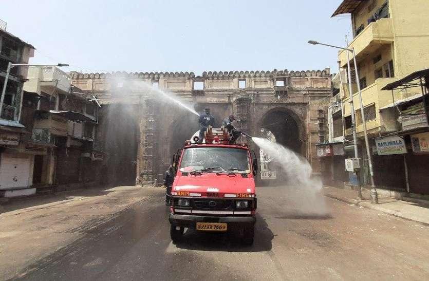 Corona virus: पुराना अहमदाबाद शहर बफर जोन में तब्दील, करीब 5 लाख की आबादी निगरानी में