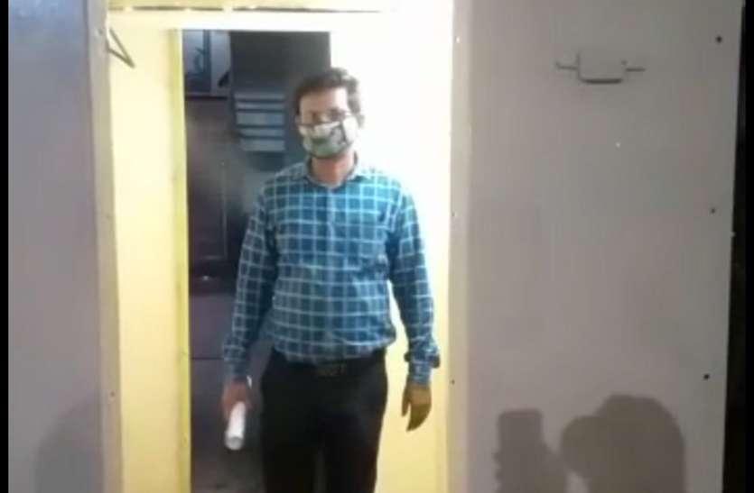 जबलपुर जोन में इटारसी एसी शेड की उपलब्धि, इंजन के कबाड़ से बनाया सेनेटाइजेशन चैंबर