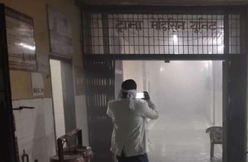 लखनऊ के किंग जार्ज मेडिकल कॉलेज में आग, कोई हताहत नहीं