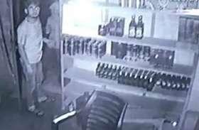 चंदौली में अंग्रेजी शराब की दुकान में लगाई सेंध, लॉकडाउन में किया हैरान करने वाला काम
