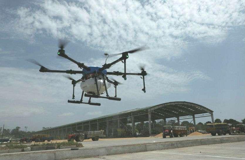 Coronavirus सिटी ब्यूटीफुल में ड्रोन से विसंक्रमण, 200 लोग एकांतवास में भेजे गए