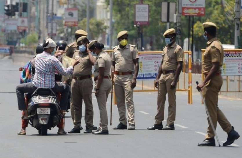 तमिलनाडु: लॉकडाउन का उल्लंघन करने वालों से वसूला1 करोड6 लाख का जुर्माना