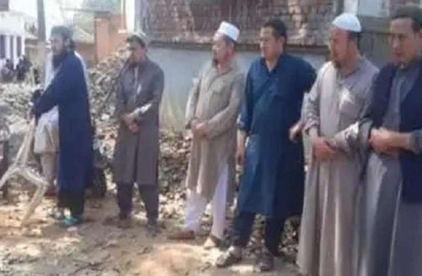 मस्जिद में छिपे 11 विदेशी जमातियों को जेल भेजा