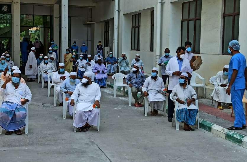तमिलनाडु में कोरोना से संक्रमित283 लोग स्वस्थ्य होकर घर लौटे