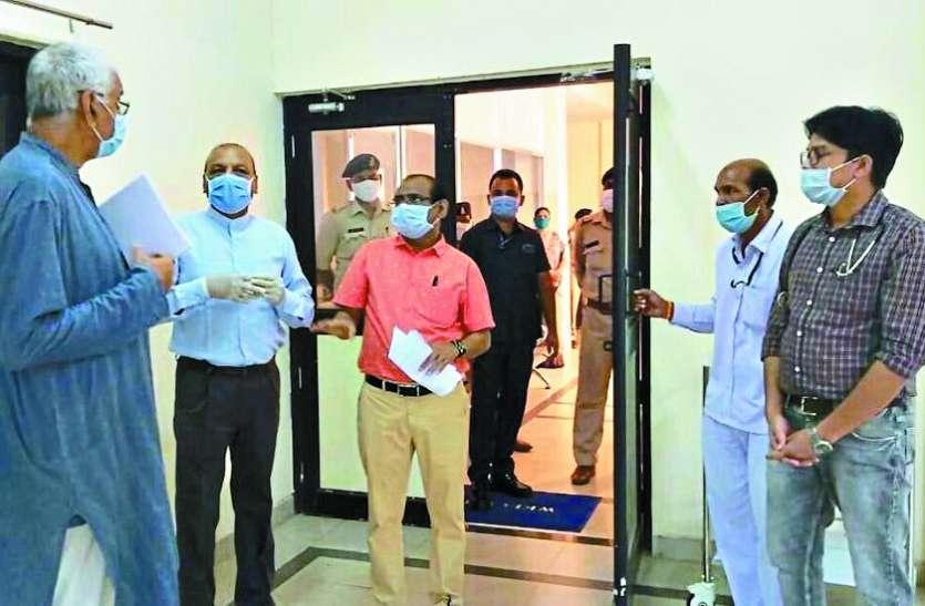 रायपुर, राजनांदगांव और दुर्ग में कोविड-19 हॉस्पिटल हुआ तैयार