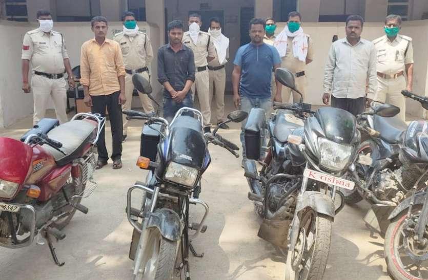 4 जुआरियों को पुलिस ने पकड़ा, जानिए पुलिस ने कैसे की घेराबंदी