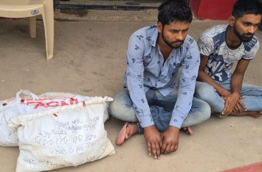 पुलिस ने पकड़ी नशीली सिरप, शातिर तस्कर सहित दो गिरफ्तार