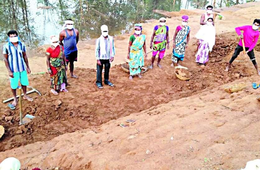 जिले में मनरेगा के तहत एक लाख 34 हजार 973 मजदूर हो रहे लाभान्वित ...