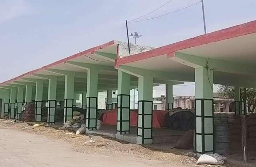 भीलवाड़ा में किसान लॉक-डाउन, मंडी में सन्नाटा
