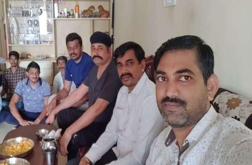 राजस्थानी समाज ने हाली अमावस्या मनाई