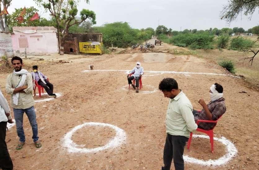 कोरोना ने काटा कई गांवों का सम्पर्क